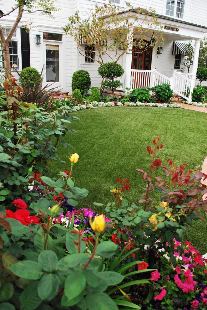 Front Yard Landscape 1 - Traditional - Landscape - San ...