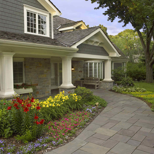 Front yard landscape contemporary landscape for Houzz landscape architects