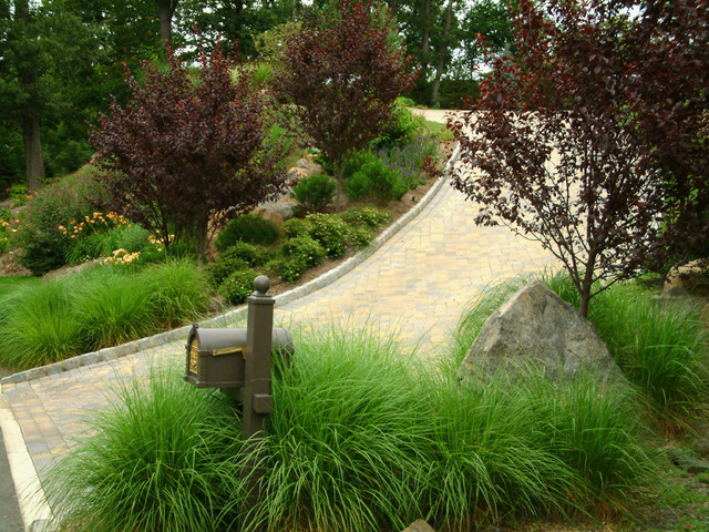 Front Yard Landscape Design eclectic-landscape