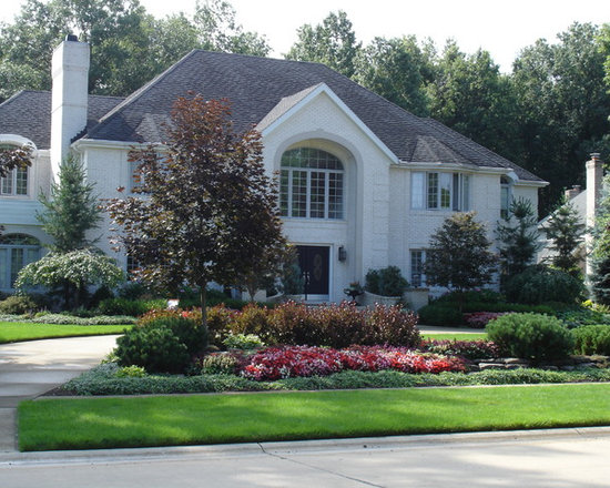 Shaped Driveway Landscaping : Premium driveway design ideas pictures remodel decor