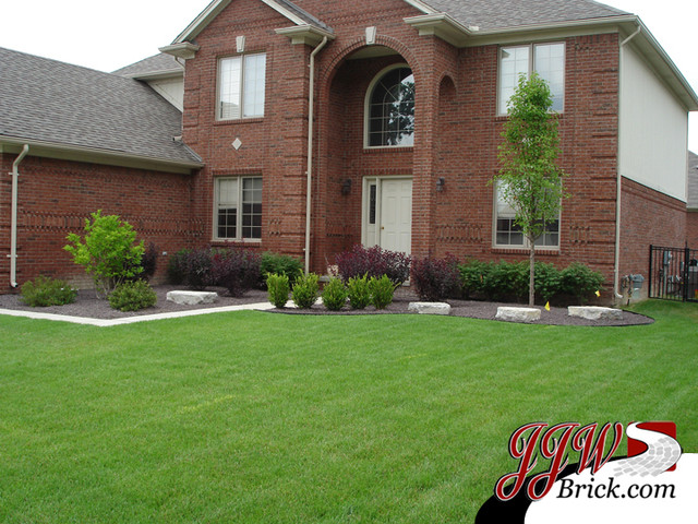 Front Yard Landscaping Design Photos Traditional