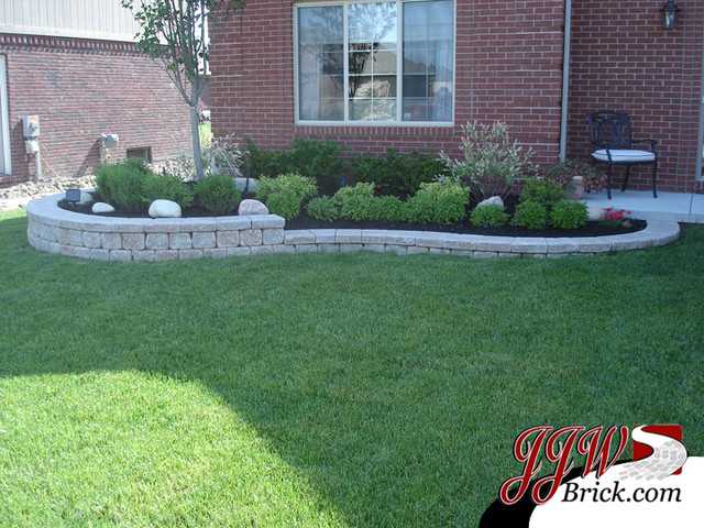 Landscaping Yard Photos : Front yard landscaping design photos traditional landscape