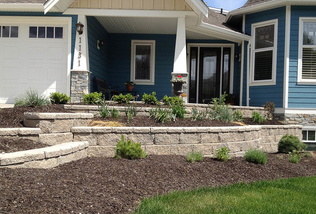 Landscaping Block Designs : Front yard landscaping ideas contemporary landscape