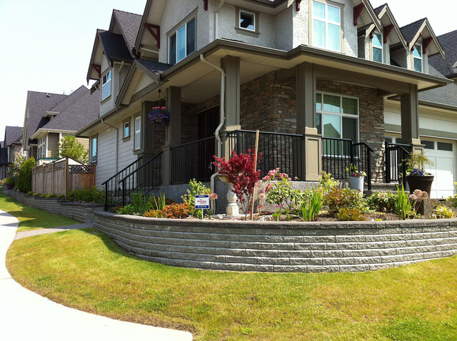Corner Block Landscaping Ideas : Front yard landscaping ideas contemporary landscape