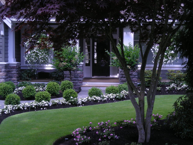 Front Lawn Landscape Ideas Curb Appeal Flower Beds
