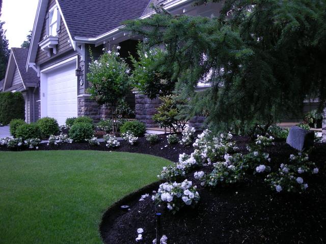Front Yard Landscaping Make Over 1 traditional-landscape
