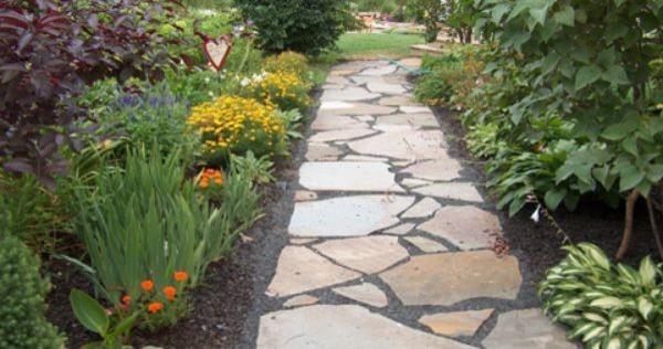 Front Yard Pathways Traditional Garden