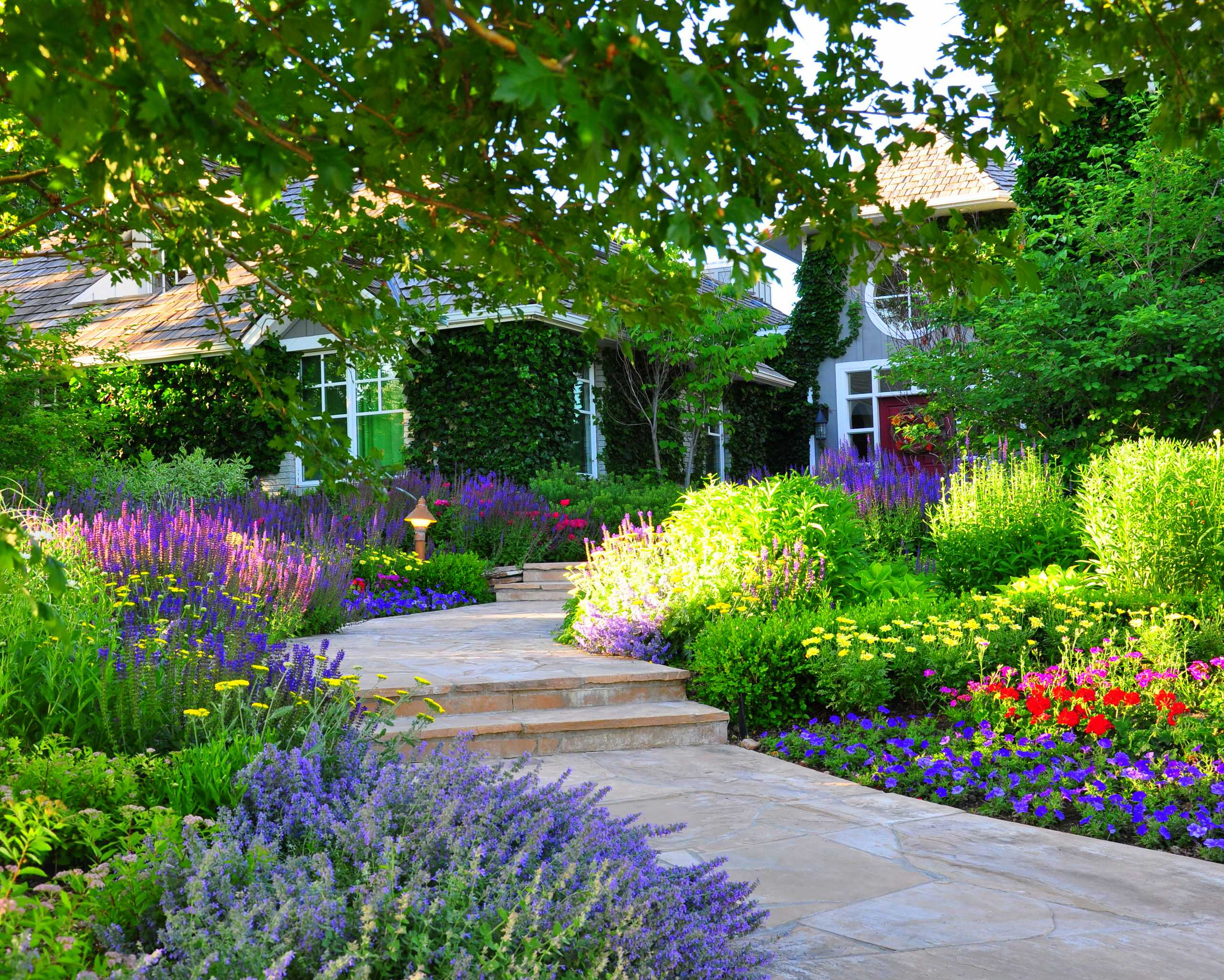 75 Beautiful Traditional Front Yard Landscaping Pictures Ideas March 2021 Houzz
