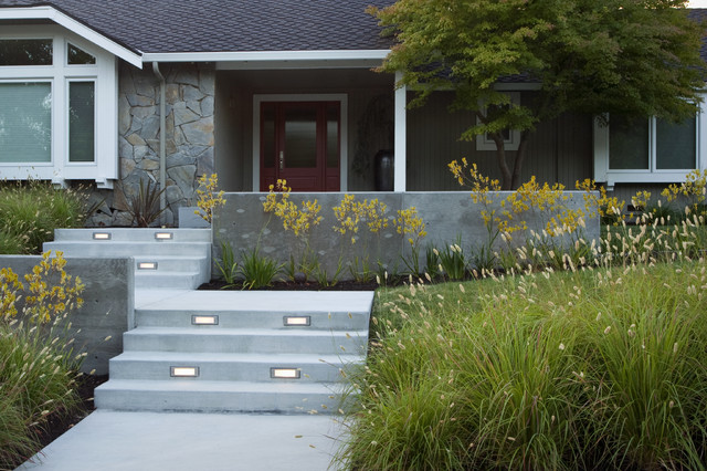 Front yard retreat modern landscape san francisco for Houzz landscape architects