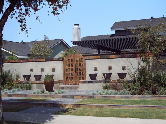 Front Yard Retreat Modern Landscape Los Angeles by
