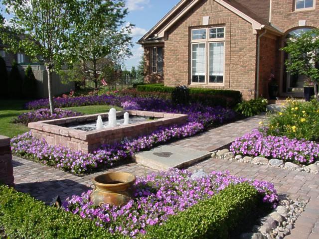 Frontyard Landscape - Traditional - Landscape - Nashville ... on Gravel Front Yard Ideas id=12633