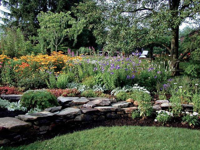 Full Sun Perennial Garden Traditional Garden Philadelphia