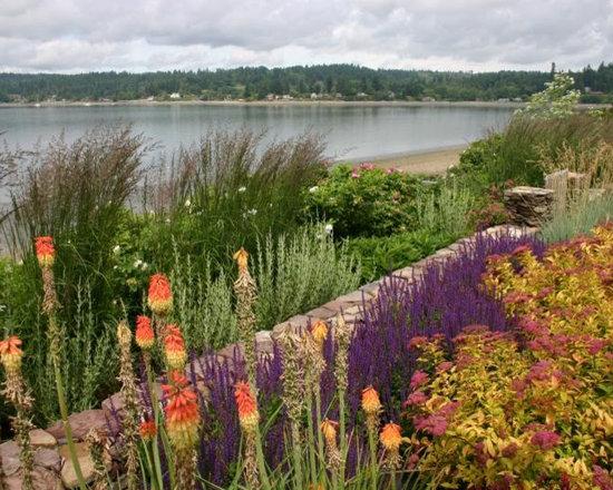 Eclectic Beach Grass Landscape Design Ideas Pictures