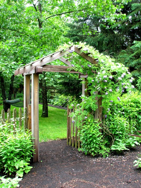 Garden Arbor Traditional Landscape Boston by Garden Tech