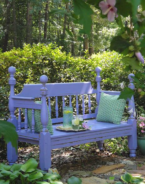 Garden Bench eclectic-landscape
