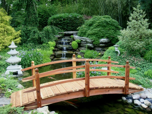 foot garden post short bridges span p