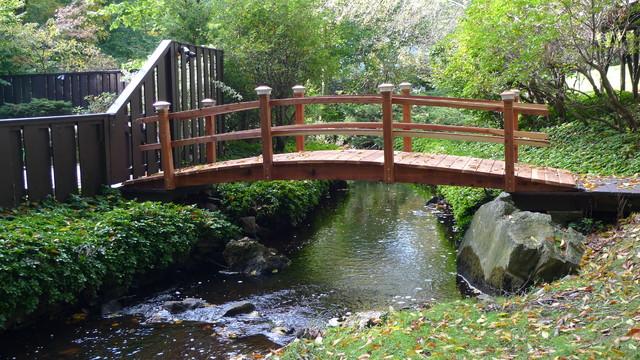 Garden Bridge traditional-landscape