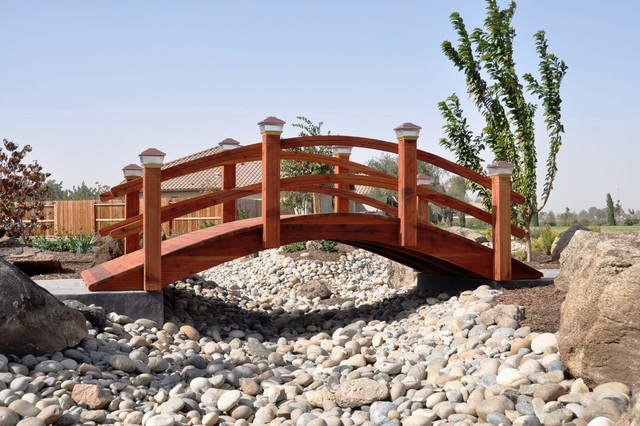 Most beautiful backyard gardens - Garden Bridges Asian Landscape Other Metro By Redwood Garden