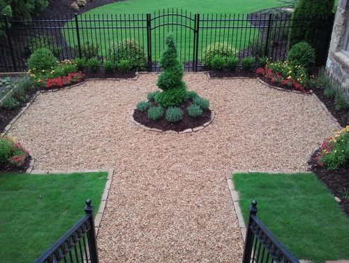 Crushed Gravel Landscaping : What are you using to stabilize the pea gravel for walking
