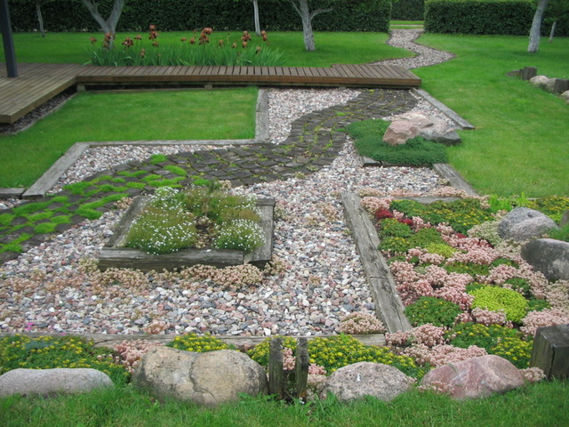 Garden design contemporary-landscape