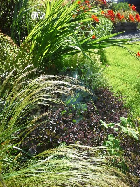 garden design traditional-landscape