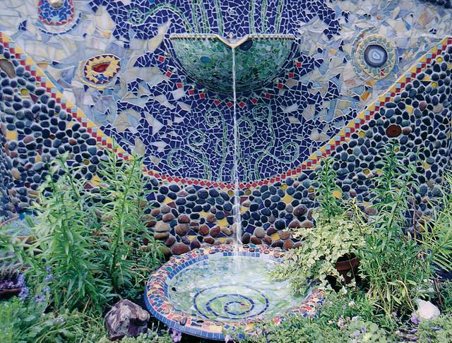 Garden Fountain Mediterranean Landscape Other by CHICAGO