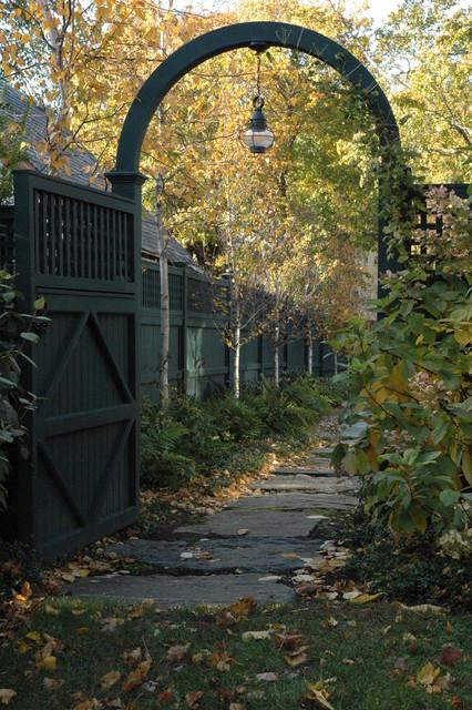 Garden Gate traditional-landscape