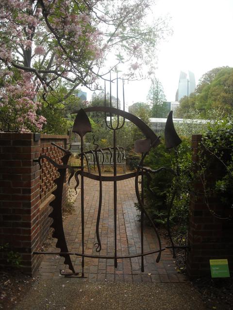 Garden Gates eclectic-landscape