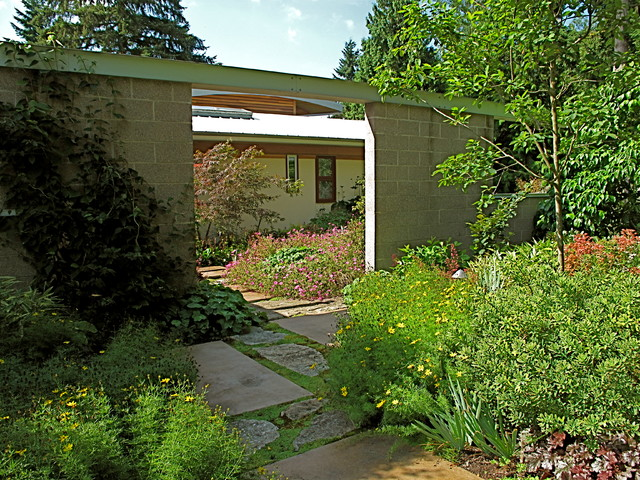 garden house bellevue washington modern landscape