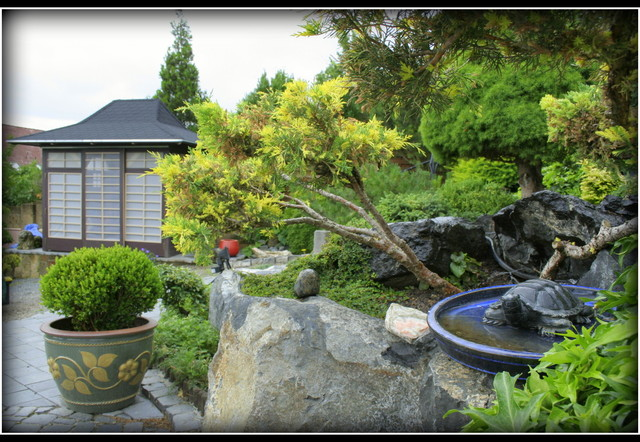 Garden in japanese style asian landscape by audrey 39 s for Japanese garden style design