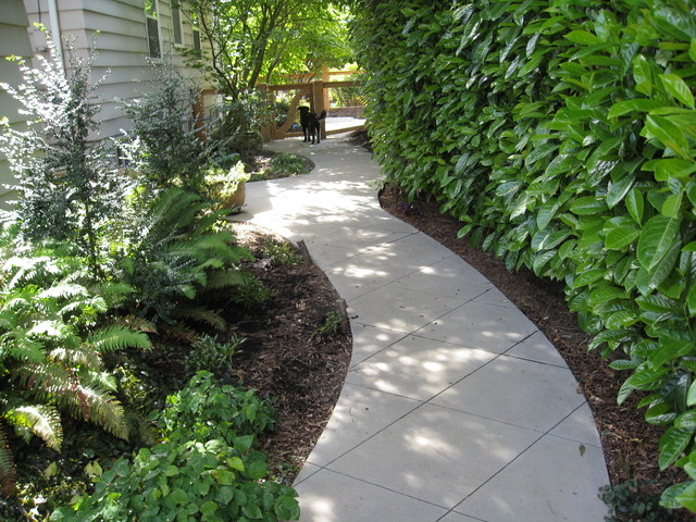 garden paths + patios - Contemporary - Landscape - seattle - by Kate Martin Design