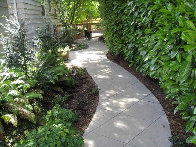 garden paths patios Contemporary Landscape seattle