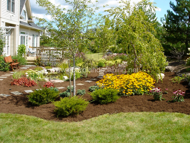 Garden Ponds, Fish Ponds, Koi Ponds, Monroe County, Rochester NY by Acorn traditional-landscape