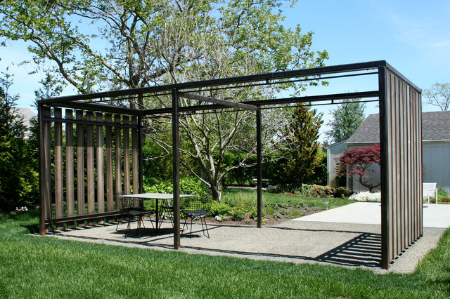 Garden structures modern landscape new york by for Outdoor structures