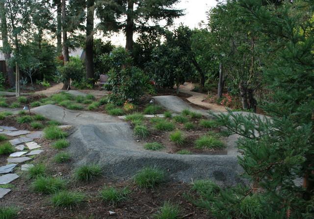 Backyard Pump Track Layout : Landscape Architects & Landscape Designers