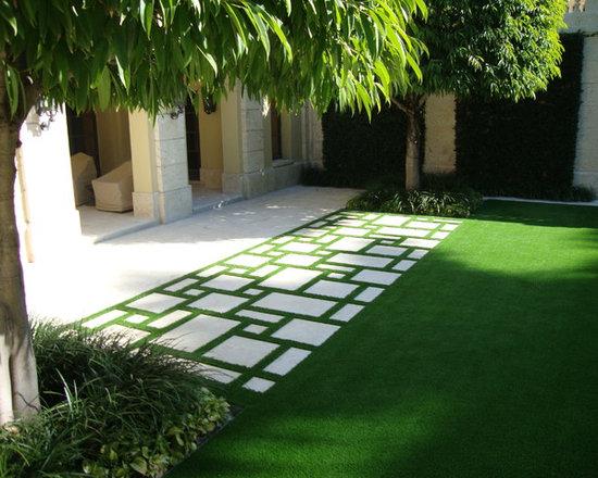 Mediterranean Beach Grass Landscape Design Ideas Pictures