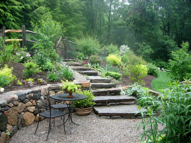 Gardens we have planted and love rustic landscape for Rustic garden designs