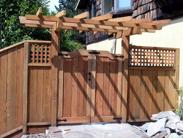 Gate Asian Landscape San Francisco by Thomas Saxby Architect