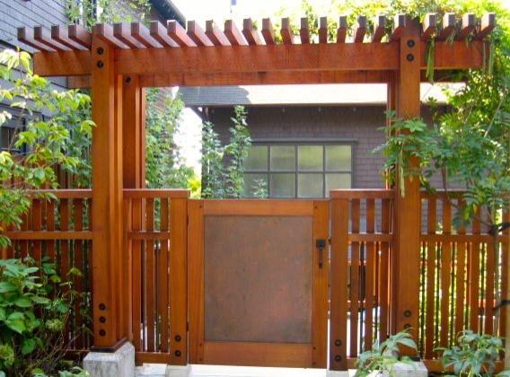 gates and fences landscape san francisco by dancing leaf designs