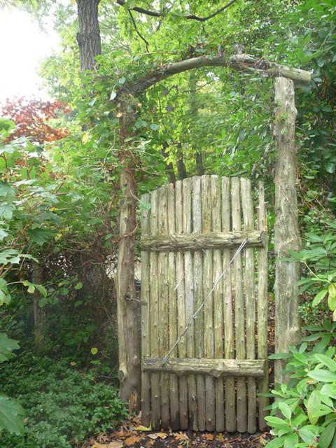 Merveilleux Gates, Arbors And Fences Rustic Garden