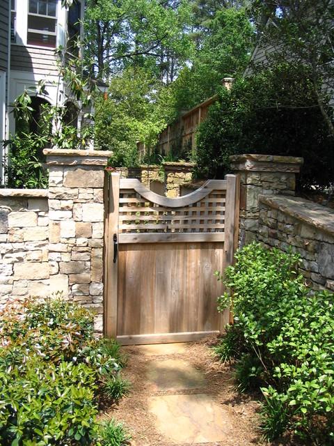 Gates traditional-landscape