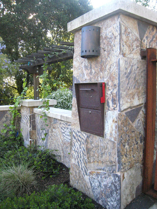 Stone Mailbox Home Design Ideas Pictures Remodel And Decor