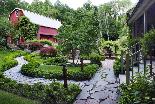 Landscaping Around An Old Farmhouse : Gentlemen s country estate