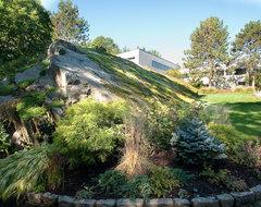 Gingko House, Harrison, NY modern-landscape