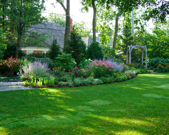 Beautiful backyard ideas home design ideas pictures for Traditional landscape