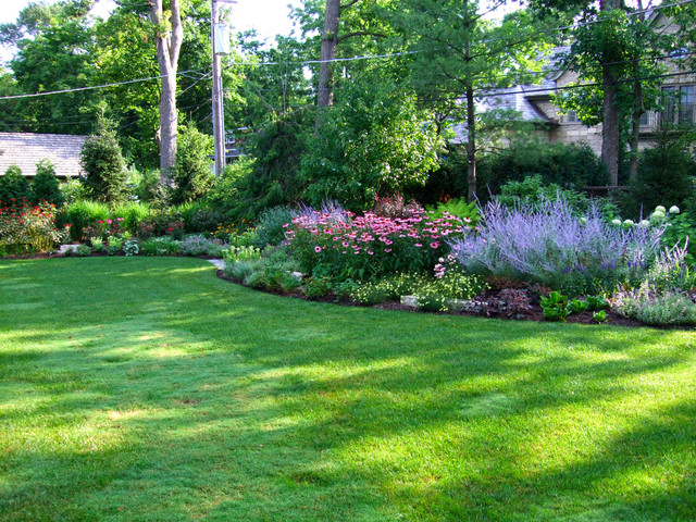 Etonnant Glencoe Garden Traditional Landscape