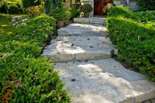 Glenview Residence Landscape Design traditional-landscape