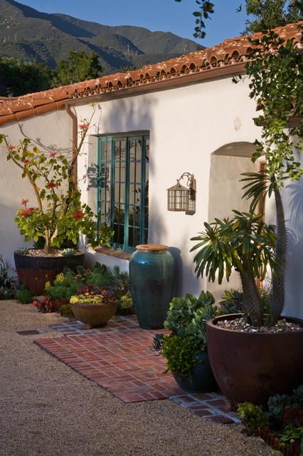 Grace design associates mediterranean garden santa for Landscape design associates
