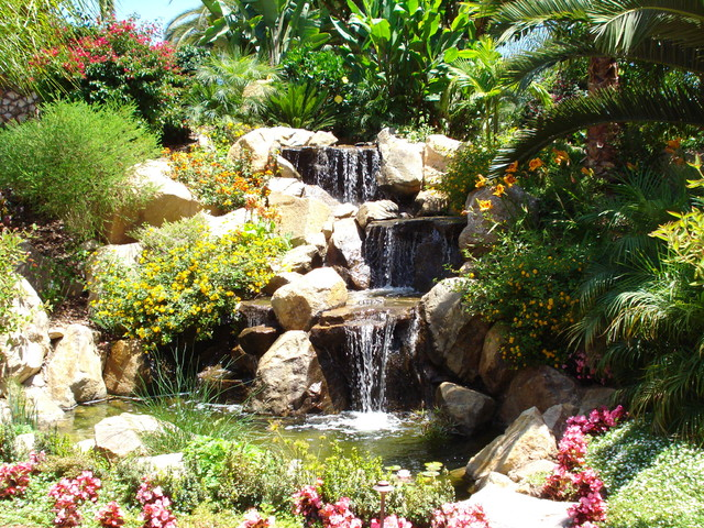 Photo of a landscaping in San Diego.