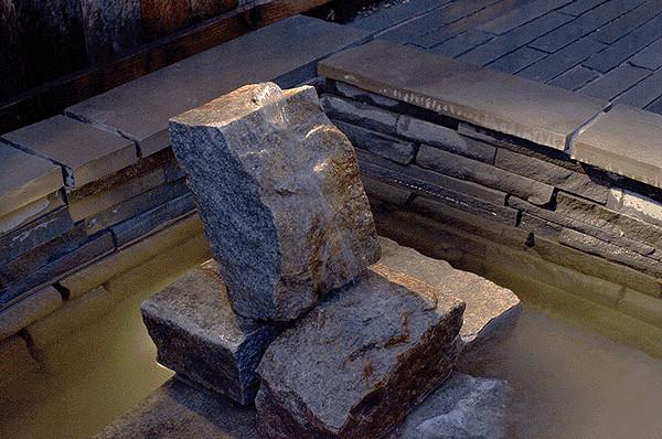 Granite Fountain contemporary-landscape